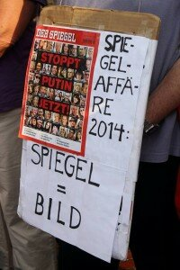 SPIEGEL-Demonstration